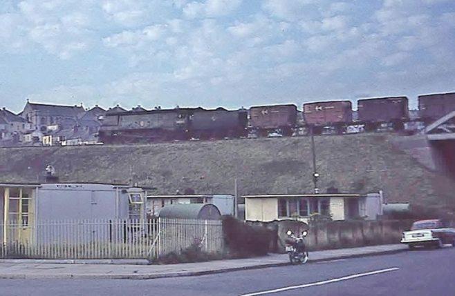 UK100 prefabs, Wolseley Road, Plymouth 1964