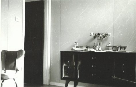 Living room of the LCC Mobile Home, Essian Street, Stepney