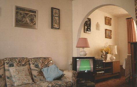 Living room, Orlit house, Billson Street, London E14