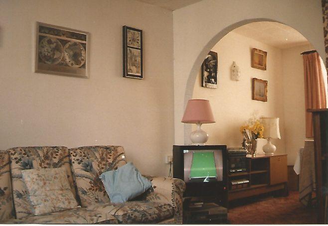 Living room, Orlit house, Billson Street, London E14