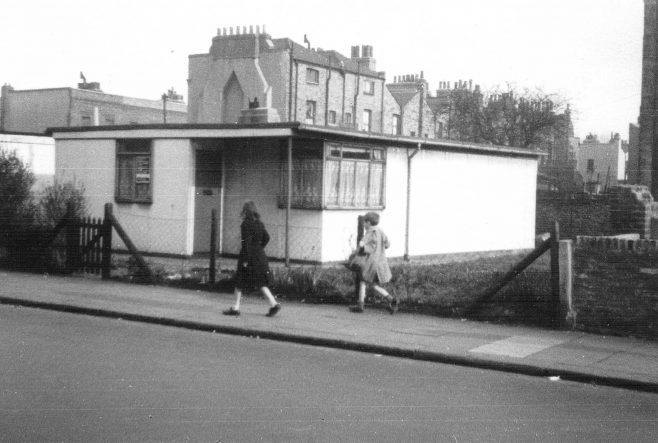 Uni-Seco prefab, Parkgate Road, Battersea SW11