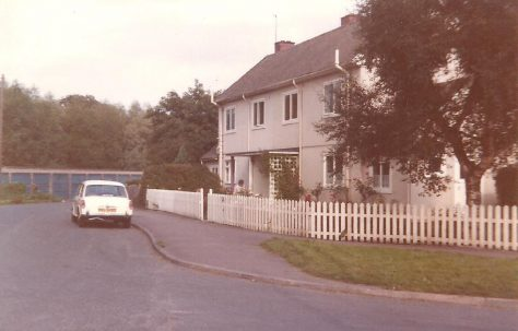 Swedish houses, Pool in Wharfedale, West Yorkshire