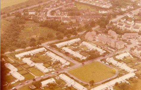 Aerial photo of The Reddings, Cheltenham