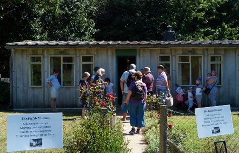 Moving Prefab event: Chiltern Open Air Museum 23 August 2016