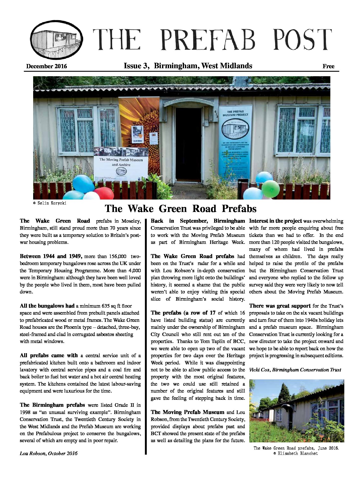 Moving Prefab: Prefab Post Issue 3