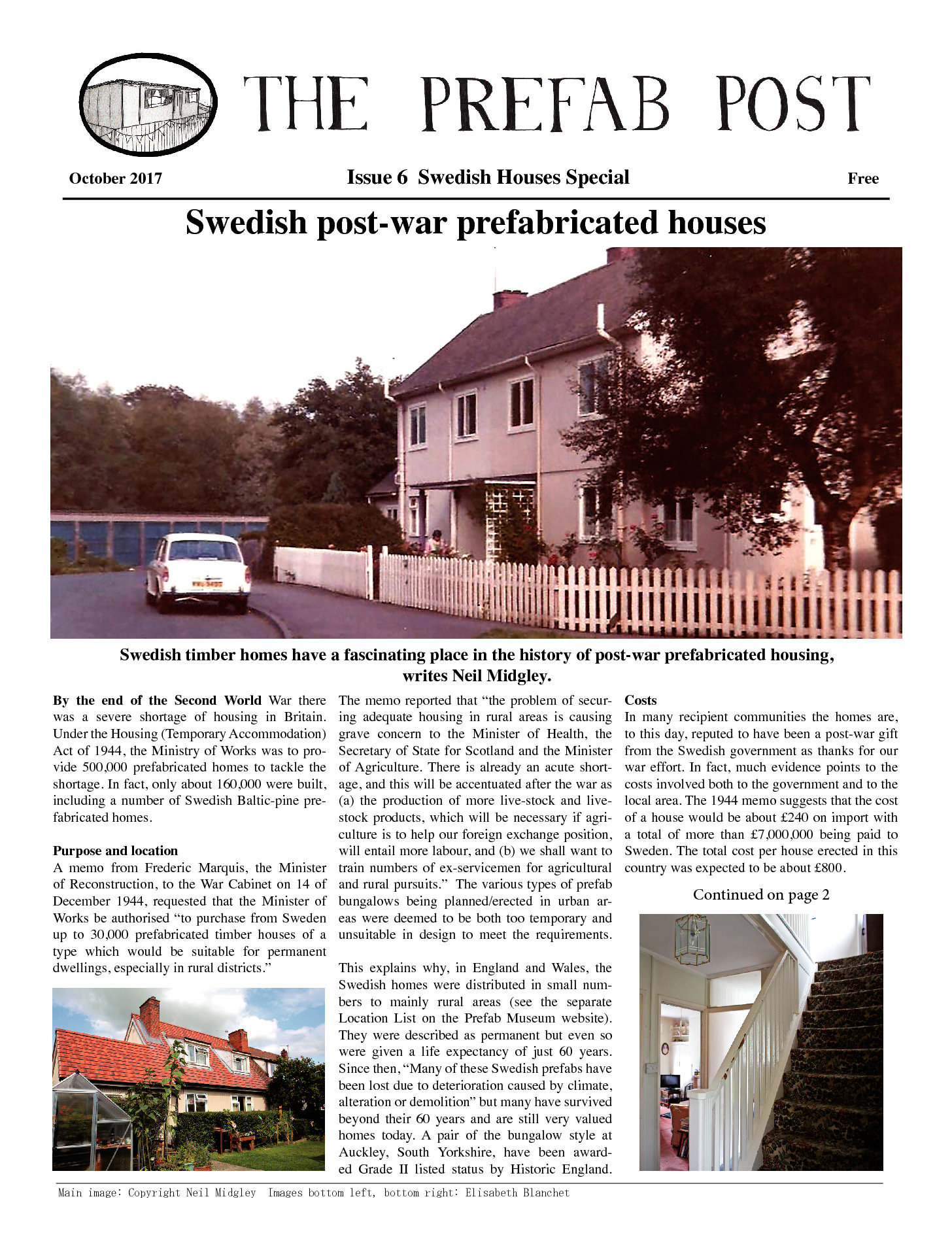 Moving Prefab: Prefab Post Issue 6
