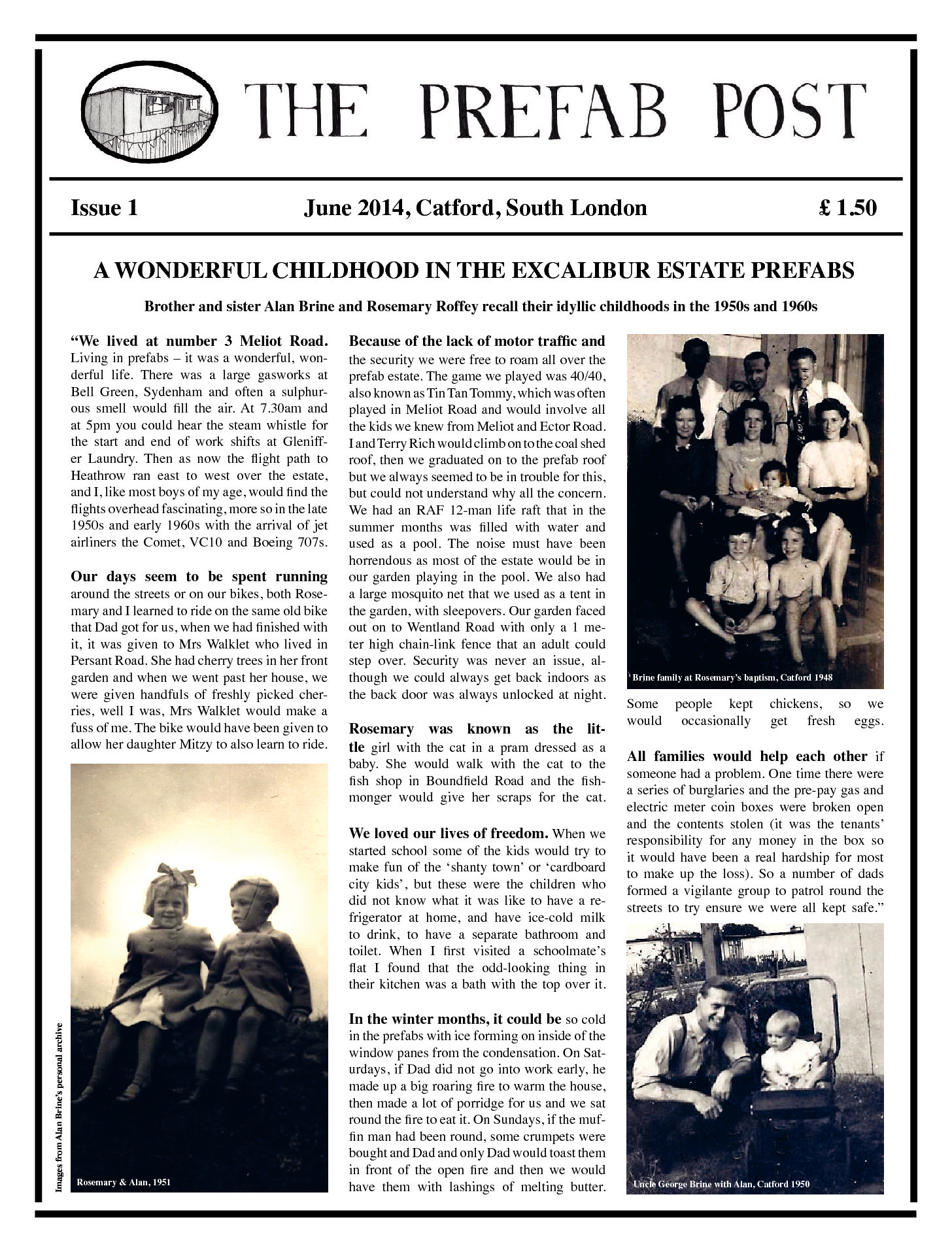 The Prefab Post, Issue 1. June 2014