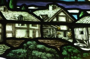 Stained glass at the Guidhall, Derry/Londonderry | David G Thomas