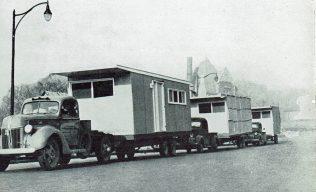 Transportation of American prefabs | Prefab Museum