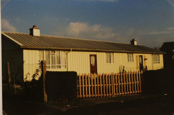 Hawksley BL8 semi-detached aluminium bungalow