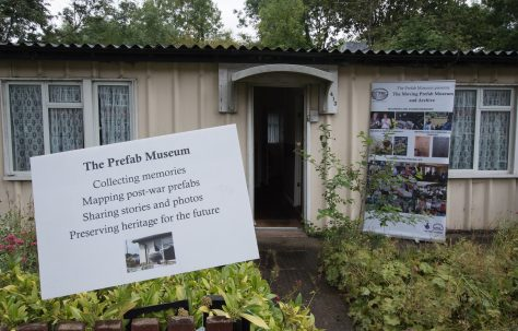 Moving Prefab: Wake Green Road, Grade II listed Phoenix prefabs. Exhibition September 2017.