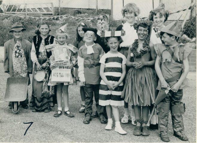 Coronation party, Wiston Road, Whitehawk, Brighton