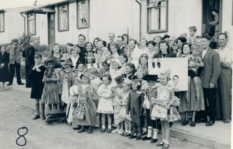 Coronation party, Wiston Close, Whitehawk, Brighton