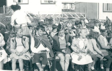 Coronation party, Wiston Close, Whitehawk, Brighton