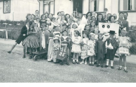 Coronation party, Wiston Road, Whitehawk, Brighton
