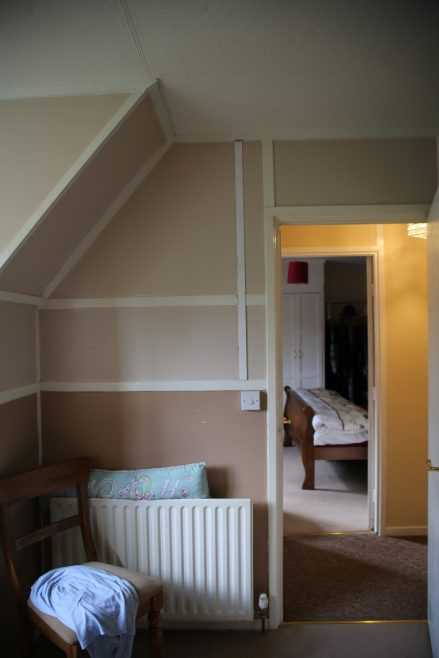 Interior detail, bedrooms, Swedish house, Pool-in-Wharfedale