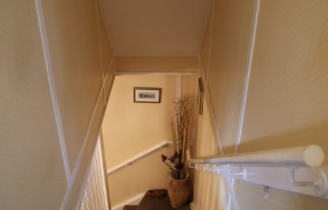 Staircase, Swedish house, Pool-in-Wharfedale