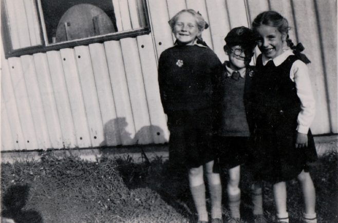 Anne and friends, St Andrews Drive, Lincoln