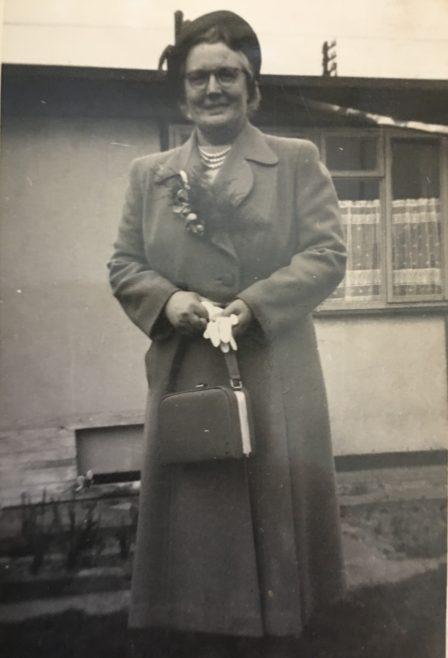 Alan's grandmother, Ascot Park, Brent Park