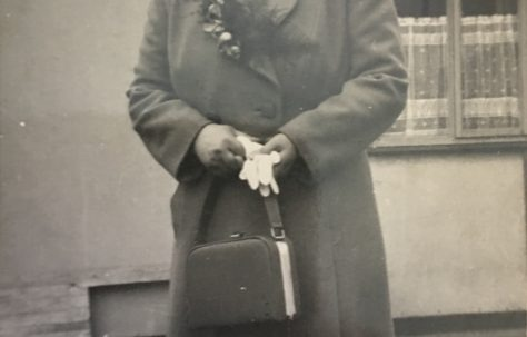 Alan's grandmother, Ascot Park, Brent Park