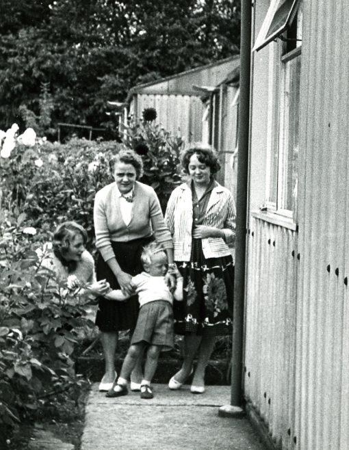 Jan, Elsie and Steve. Sixth Street, Pollards Hill