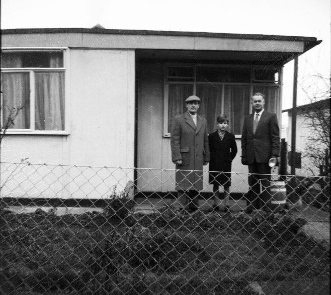 Fred, Gordon and Gene. Oakhill Road, Putney