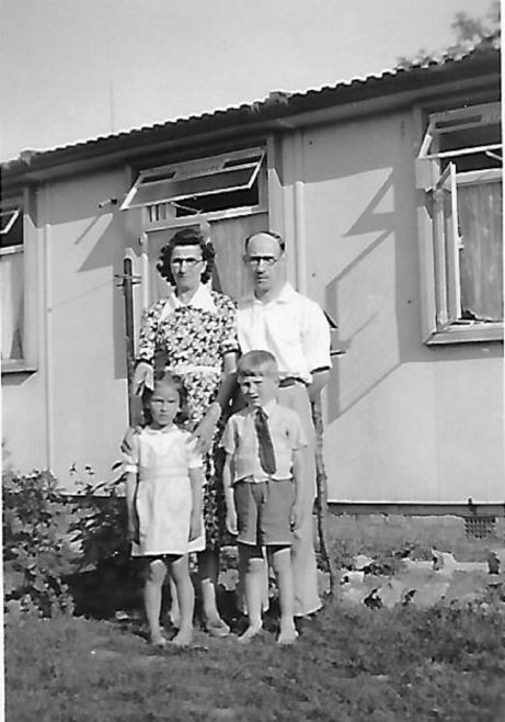 Mom and Dad, myself and my cousin Margaret from Cleethorpes. The Radleys, Sheldon