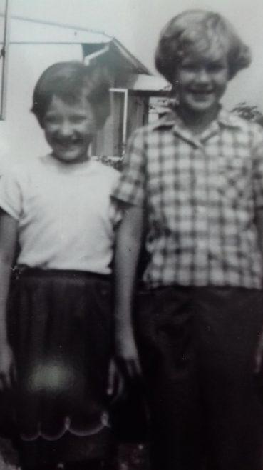 Sisters Maureen & Carole. Cuddington Way, Cheam