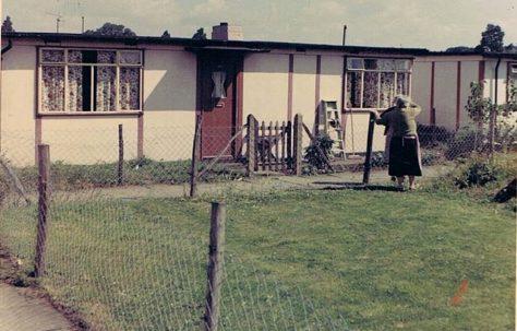 Prefab garden, 20 Fairfield Estate, Lowfield Street, Dartford