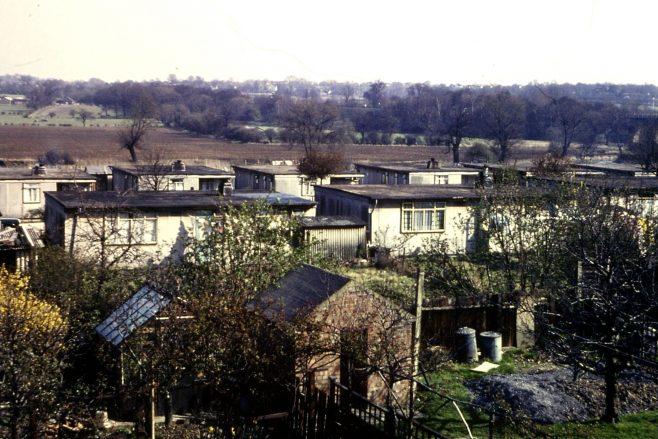 Uni-Seco prefabs on Hornbeam Road, Buckhurst Hill