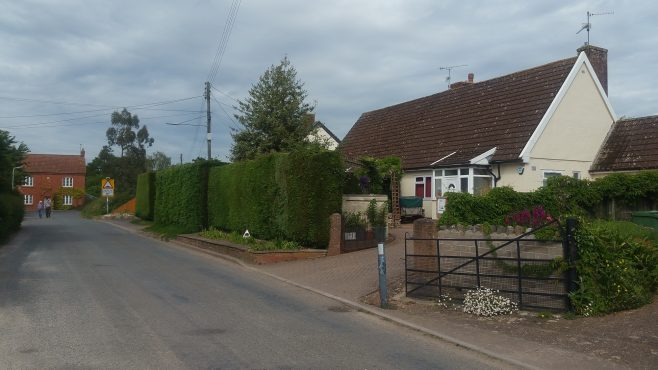 Pair of Swedish dormer bungalows. Oake, Devon