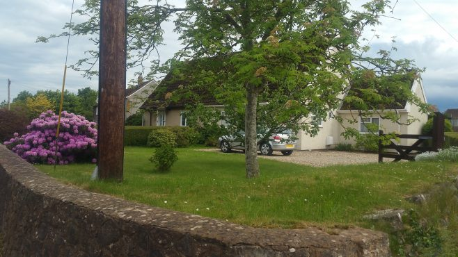 Pair of Swedish dormer bungalows. Oake, Devon