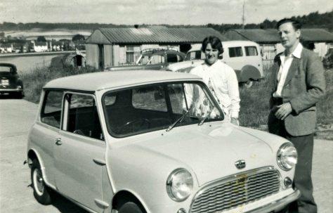 Tom and Ethel Lowe. Towards Tudor Crescent, Otford, Kent