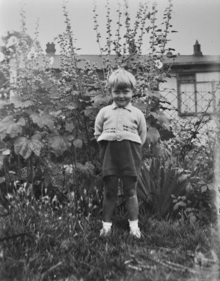 John as a wee lad. Reaston Street, London SE14