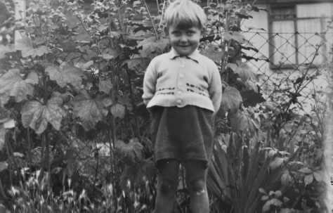 John as a wee lad. Reaston Street, London SE14