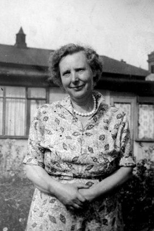 John's mother Mary Winter. Reaston Street, London SE14 | John Winter