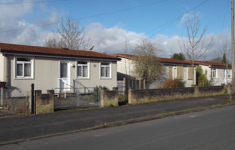 AIROH prefabs in Beattie Avenue, Hereford