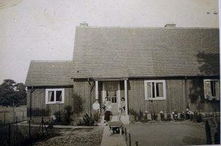 Swedish dormer bungalow. Swallow Street, Iver Heath, Buckinghamshire   Jean Abbey