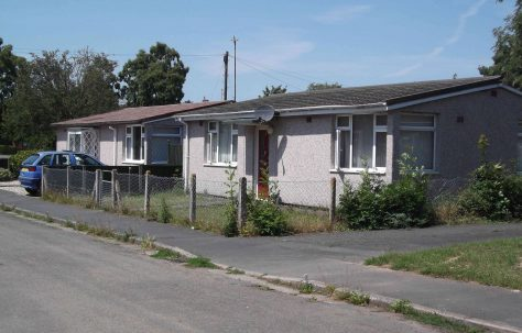 Tarran Prefabs in Chestnut Drive and Pine Grove, Hereford
