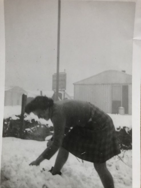 Winter 1947 - New North Road, Hainault | Peter Hocken