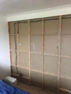 Refurbished interior wall | Dave Findlay