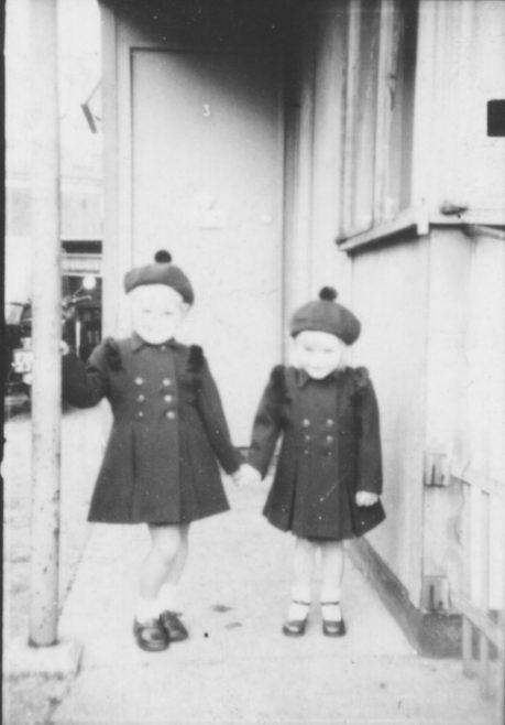 Pat and Cherry. 3 High Cross Road, Tottenham | Patricia Wilson