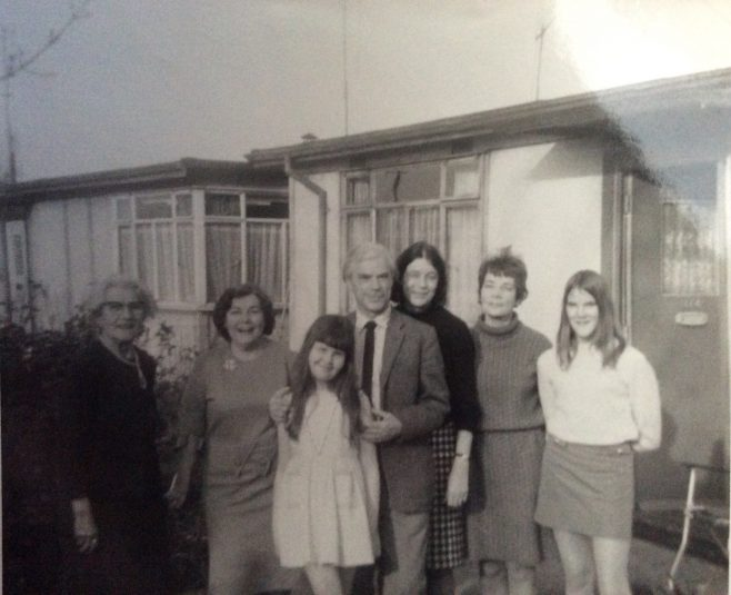 Family mid 1960s Rochford Road, Southend on Sea | Polyanna