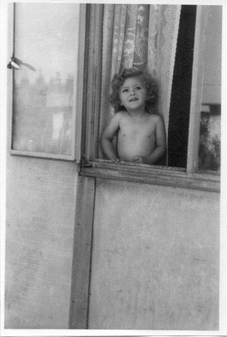 Pauline Flanders. 7 Hind Grove, Poplar, E.14.  Late 1940s. | Robert Flanders