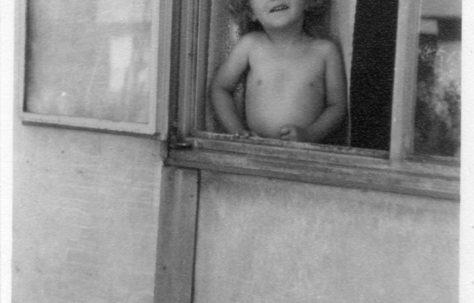 Pauline Flanders. 7 Hind Grove, Poplar, E.14.  Late 1940s.