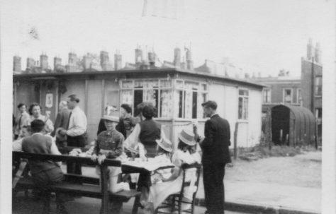 Queen Elizabeth's Coronation Street Party, Hind Grove, Poplar London E14  6th June 1953