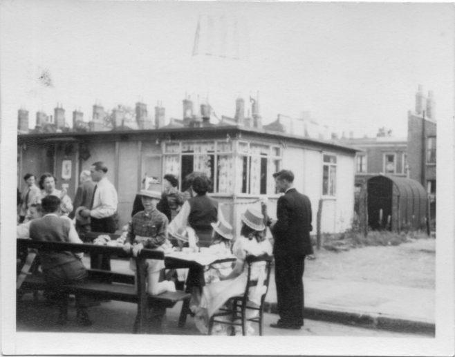 Queen Elizabeth's Coronation Street Party, Hind Grove, Poplar London E14  6th June 1953 | Robert Flanders