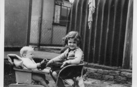 Robert and Pauline Flanders. 7 Hind Grove, Poplar, E.14. 1952