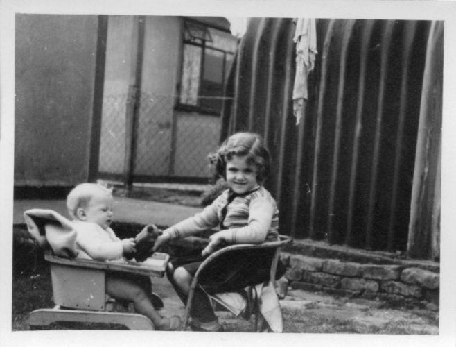 Robert and Pauline Flanders. 7 Hind Grove, Poplar, E.14. 1952 | Robert Flanders