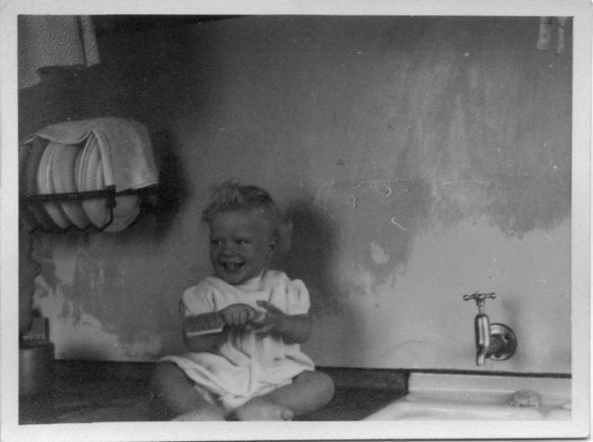 Robert Flanders. 7 Hind Grove, Poplar, E.14. 1952 | Robert Flanders